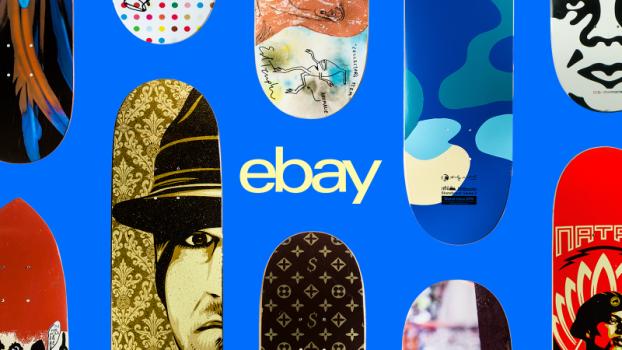 Полезно знать eBay и Skateroom – благотворительная эксклюзивная распродажа скейтбордов «День катания на скейтборде». изображение