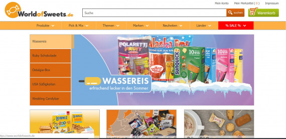 World of sweets изображение