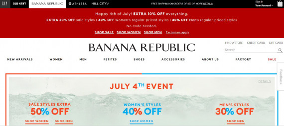 Banana Republic изображение
