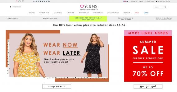 Yours clothing изображение